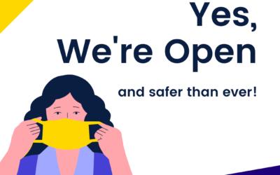 We're Open for Essentials